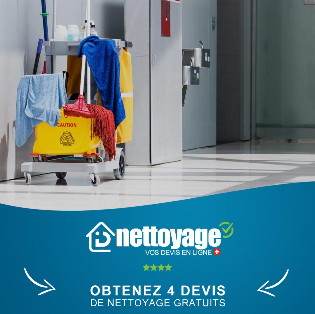 Nettoyage fin bail Vevey