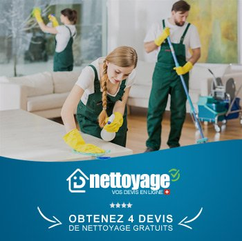 Nettoyage appartement Morges