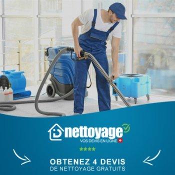Nettoyage après travaux Fribourg