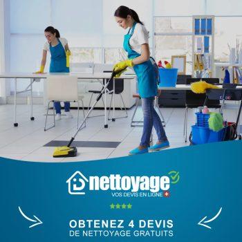 Nettoyage bureau Genève