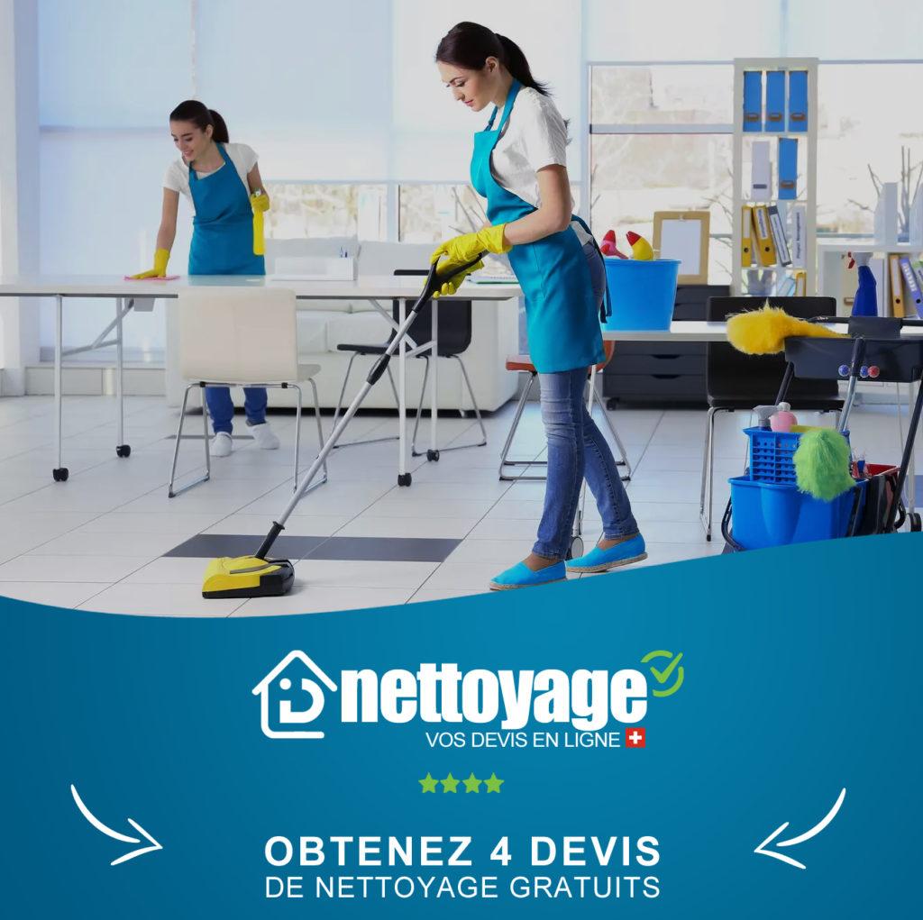 Devis Nettoyage Bureaux Suisse