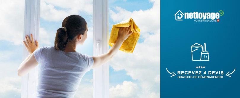 Nettoyage vitres véranda