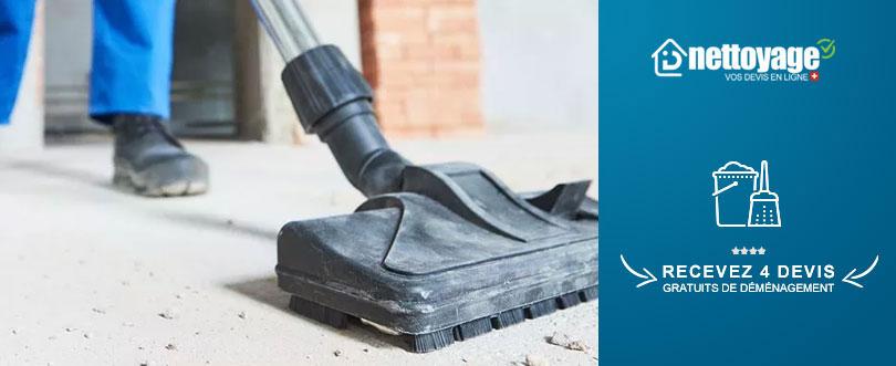 Nettoyage apres travaux Valais